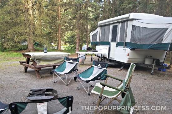 Johnston Canyon Campground