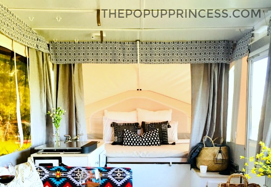 Laura Amp Brian S Pop Up Camper Makeover The Pop Up Princess