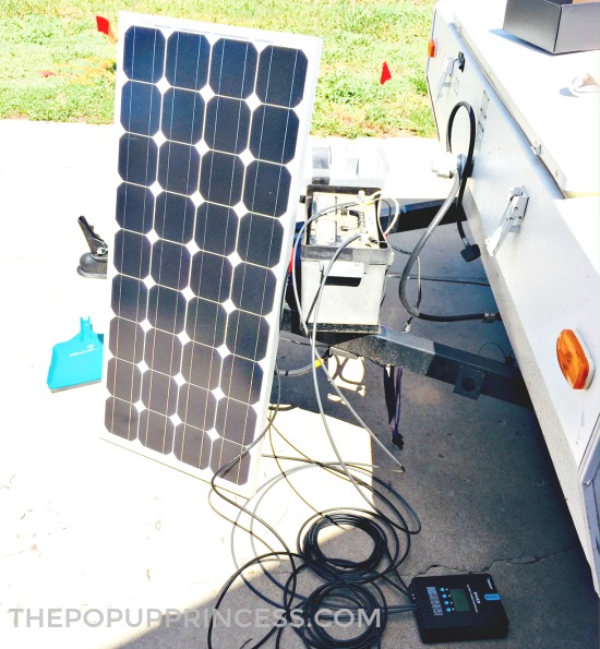 Pop Up Camper Solar