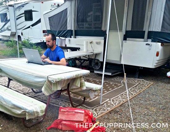 Camping in West Glacier
