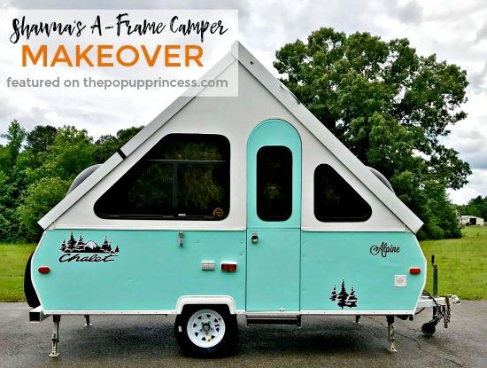 Shawna S A Frame Camper Makeover The Pop Up Princess