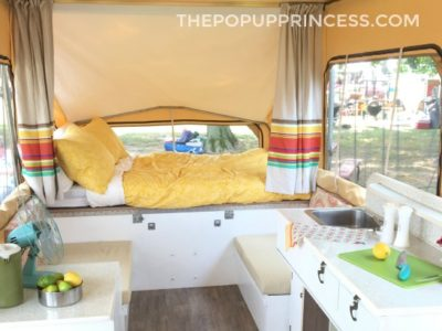 Maddie's Retro Pop Up Camper Makeover