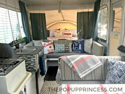 Ashley's Pop Up Camper Makeover