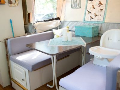 Louise's Pop Up Camper Makeover