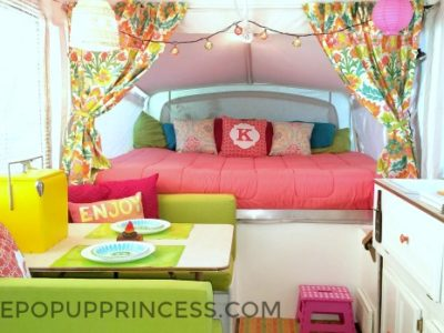 Karla's Pop Up Camper Makeover