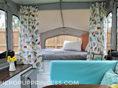 Lance & Kristin's Pop Up Camper Makeover