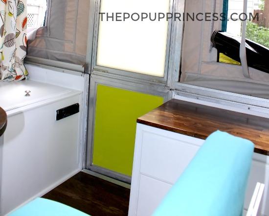 Lance & Kristin's Pop Up Camper Makeover - The Pop Up Princess