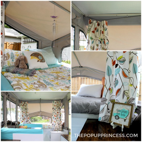 Lance & Kristin s Pop Up Camper Makeover The Pop Up Princess