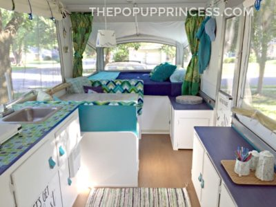 Jocelyn's Pop Up Camper Makeover