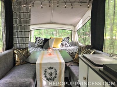 Lacey and Jared's Pop Up Camper Makeover