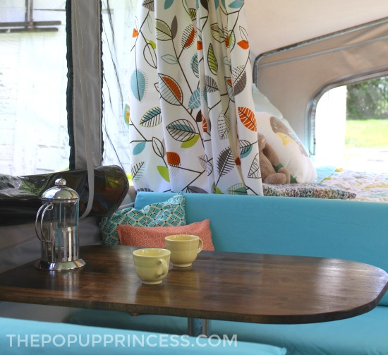 Pop Up Camper Table