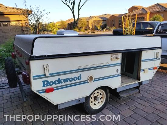 Pop Up Camper Roof Rebuild
