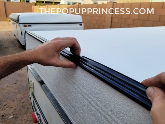 Pop Up Camper Roof Rebuild