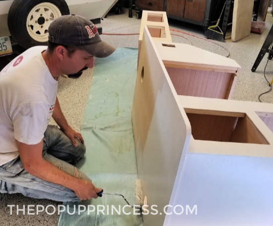 Pop Up Camper Cabinets