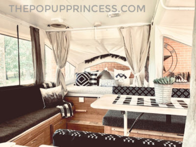 Pop Up Camper Remodel